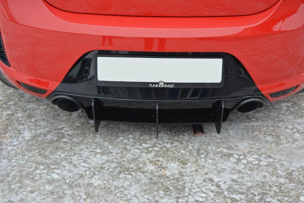 Dyfuzor Tylny Seat Leon II MS Design - GRUBYGARAGE - Sklep Tuningowy